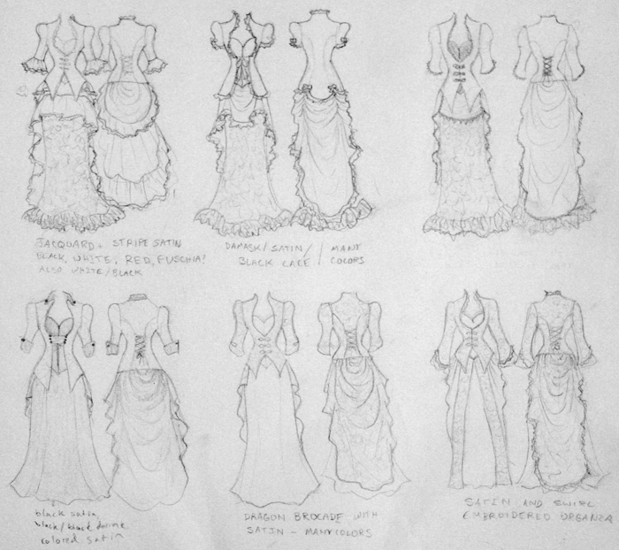 dress-sketches
