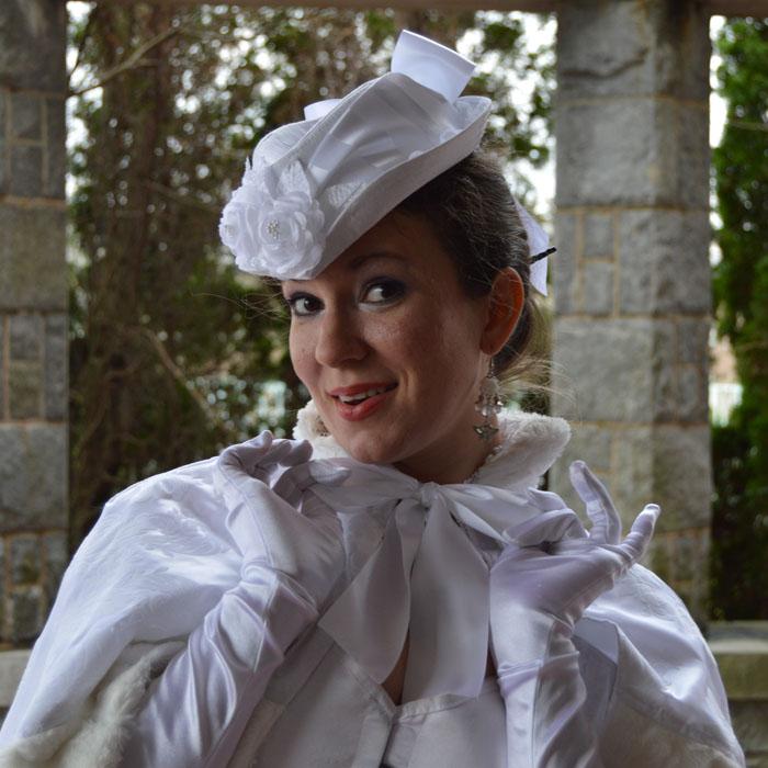 White Bridal Gown by auralynne