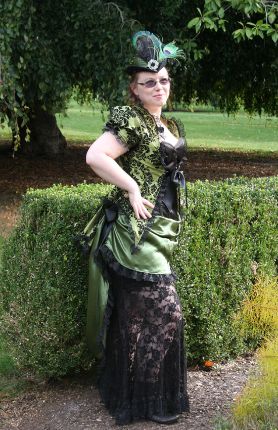 Steampunk Tea Gown by auralynne