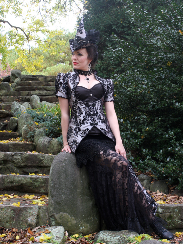 Witches Masquerade Ball Gown by auralynne
