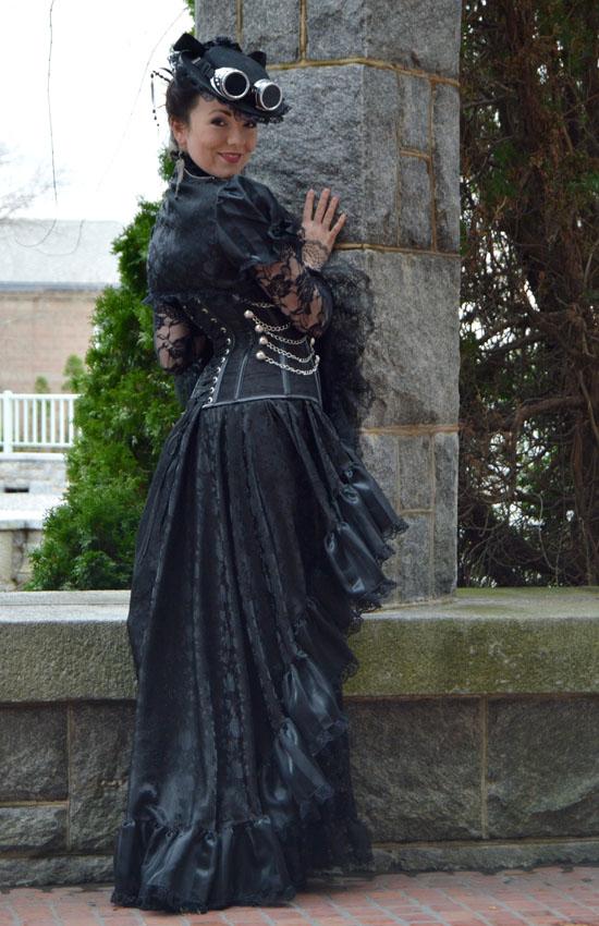 Steampunk costume by auralynne