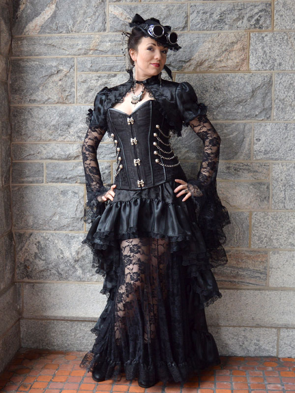 Steampunk costume by auralynne