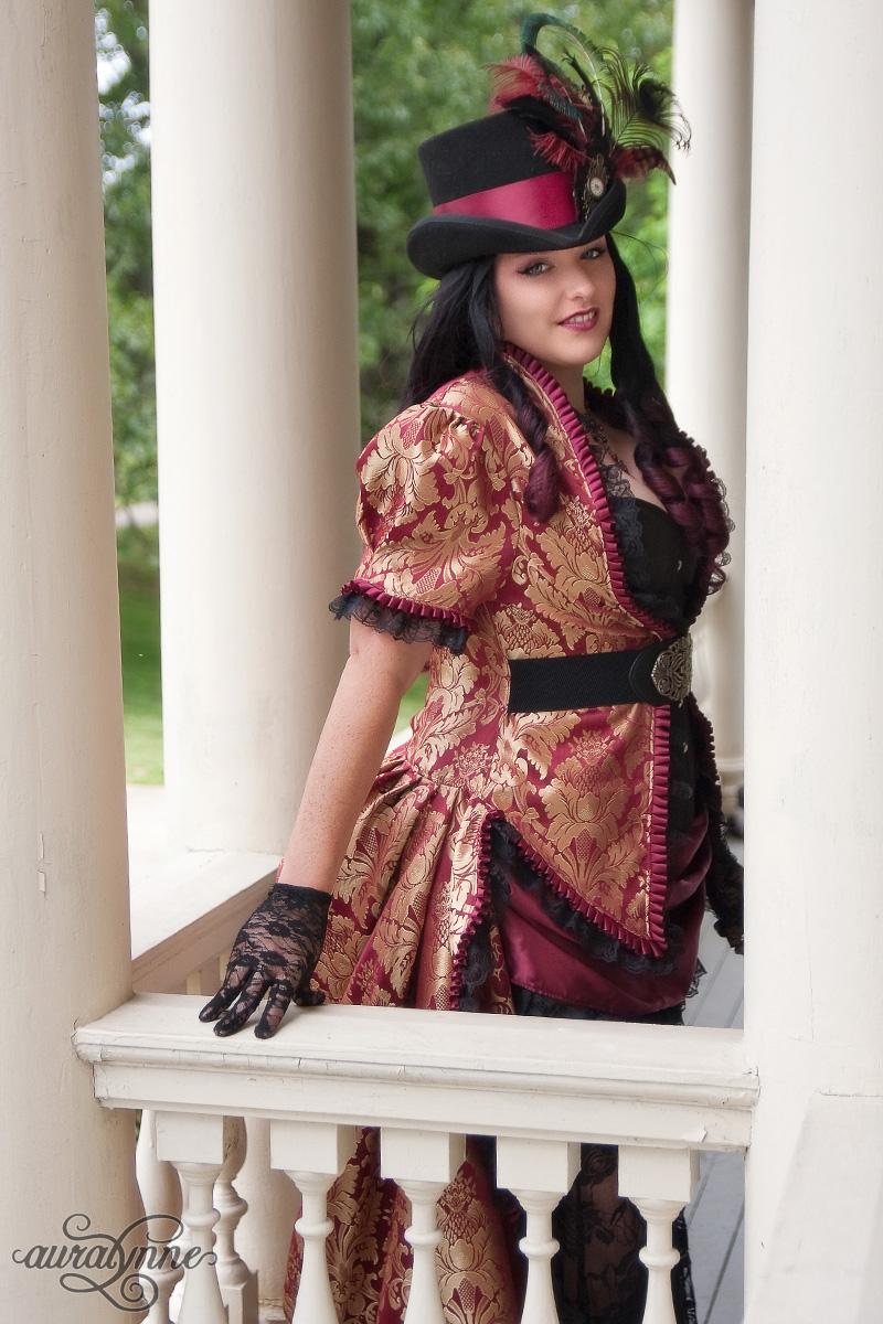 Steampunk Siren Gothic Wedding Dress | auralynne