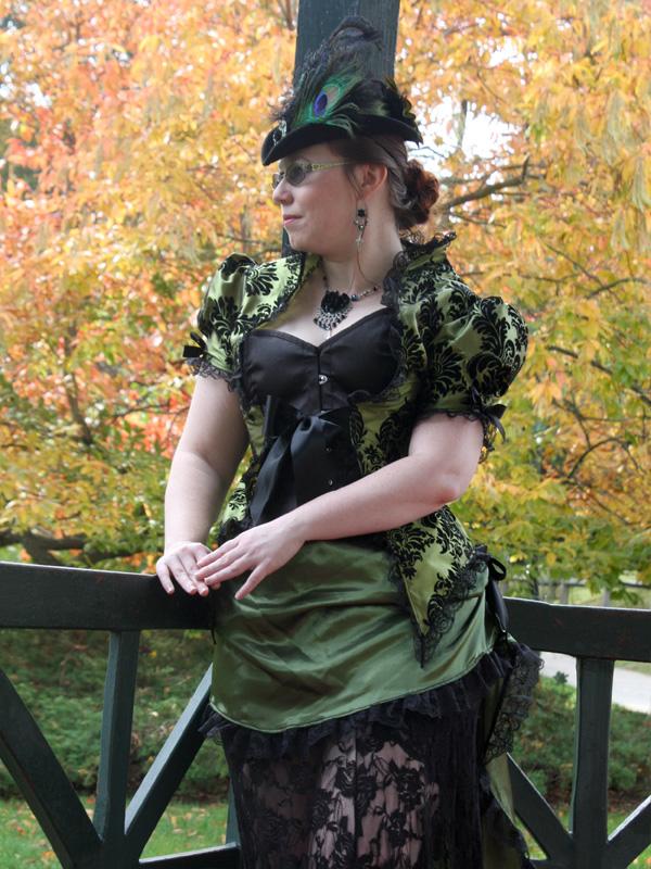 Steampunk Tea Gown by auralynne