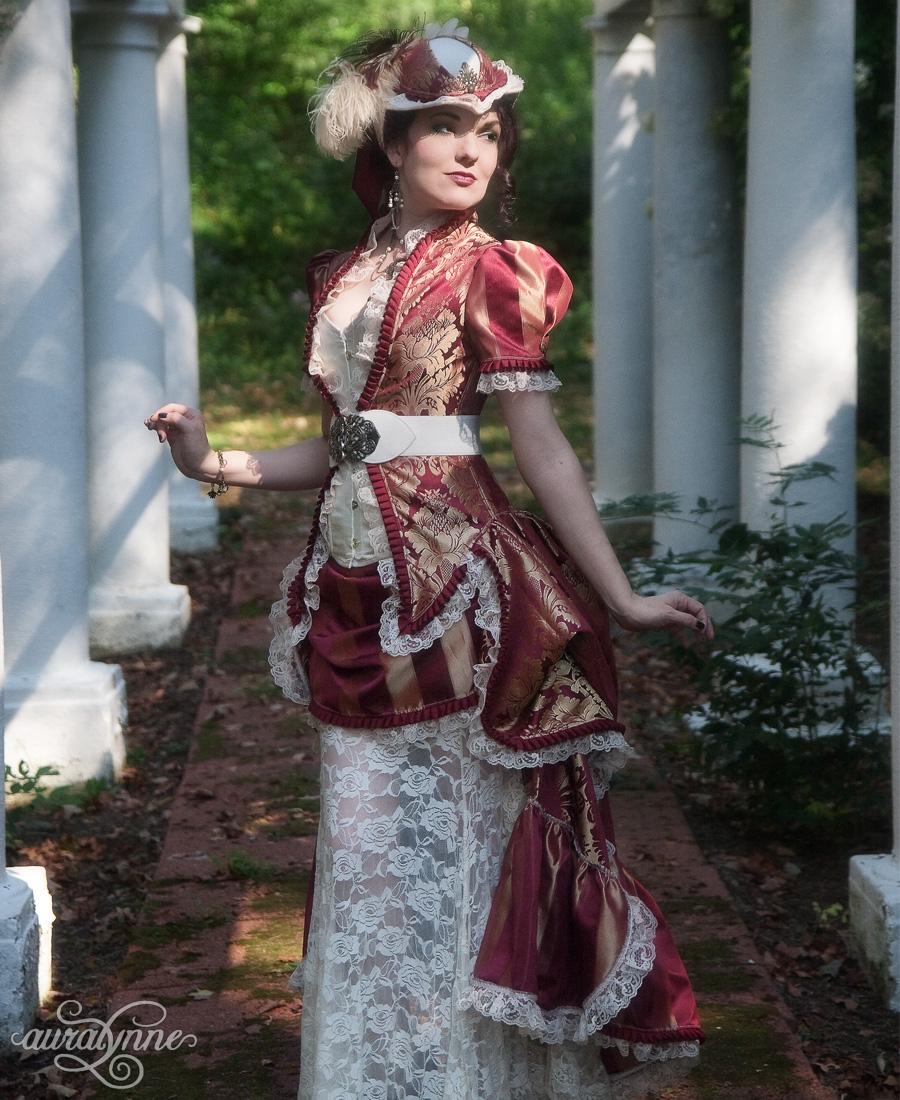 Victorian Bridal dress