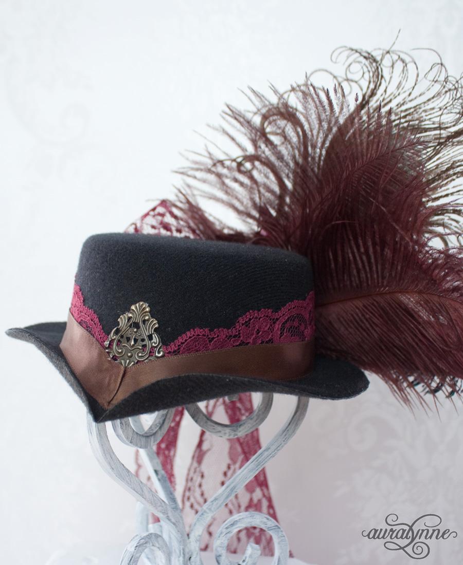 Victorin mini top hat