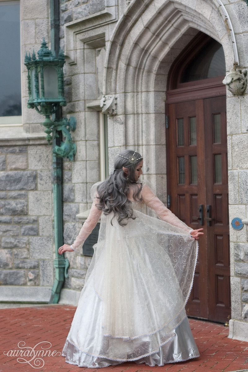 Elven Wedding Dress