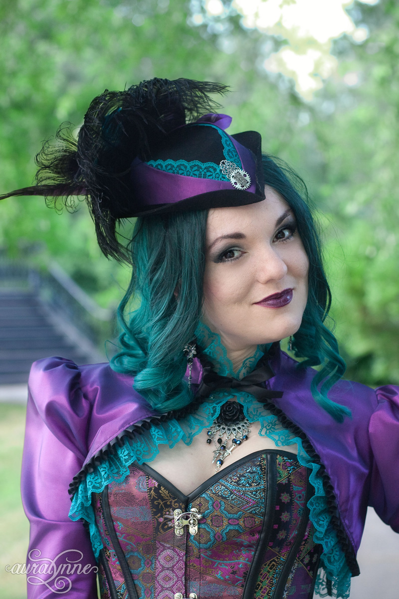 Purple Steampunk Costume