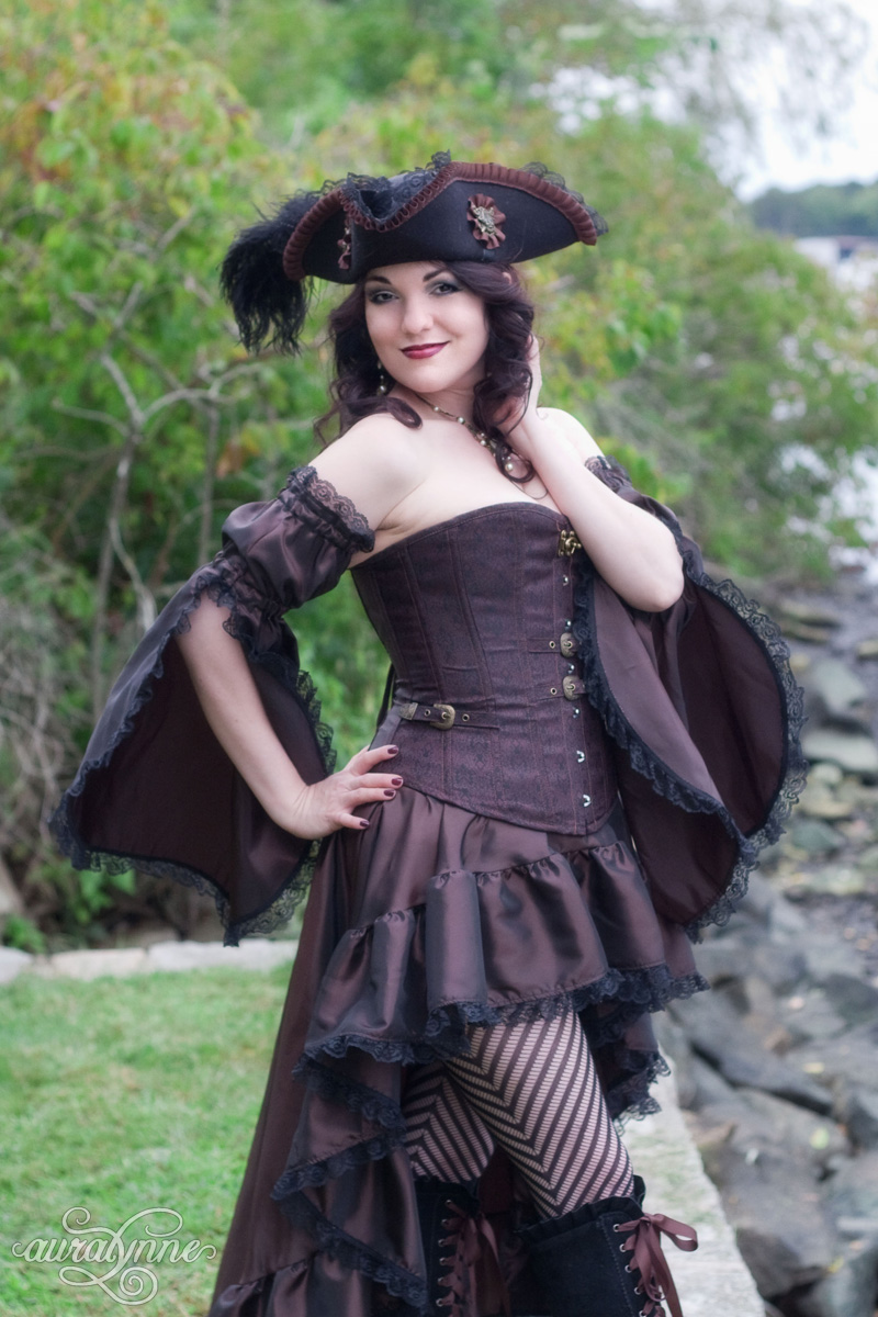Steampunk Pirate Costume