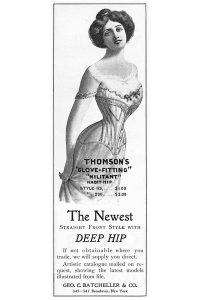 Thomsons Corset Ad, 1892