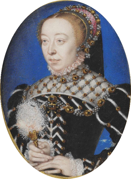 A Portrait of Catherine De Medici