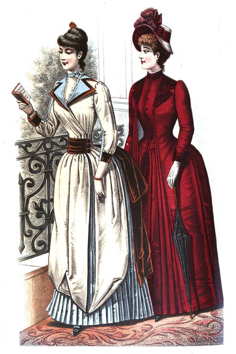 Godey Ladies Magazine 1888