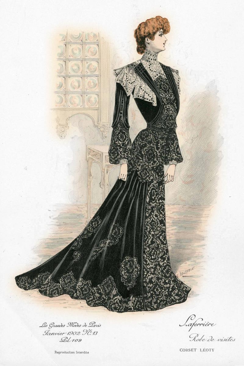 Fashion Plate, 1892
