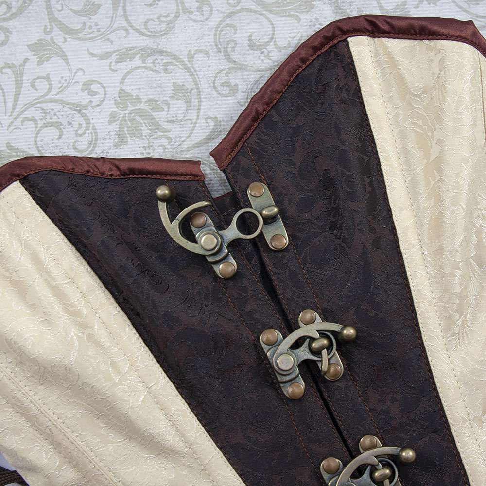 Corset with Swing Latches