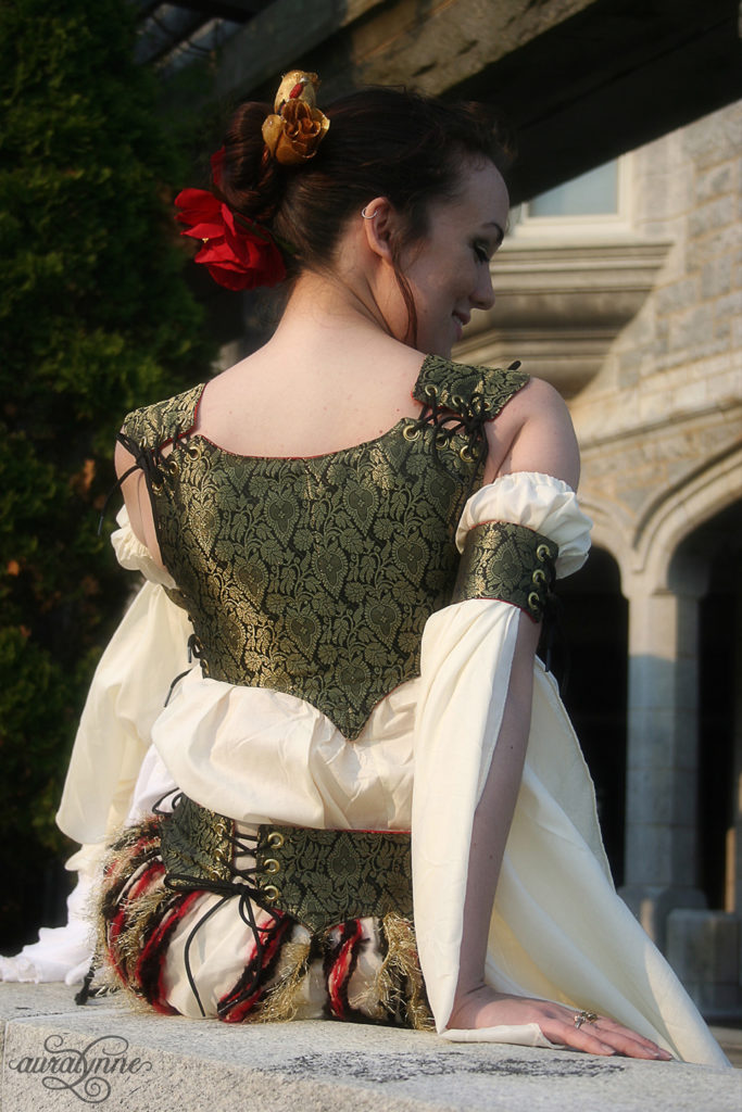 Renaissance Belly Dance Bodice