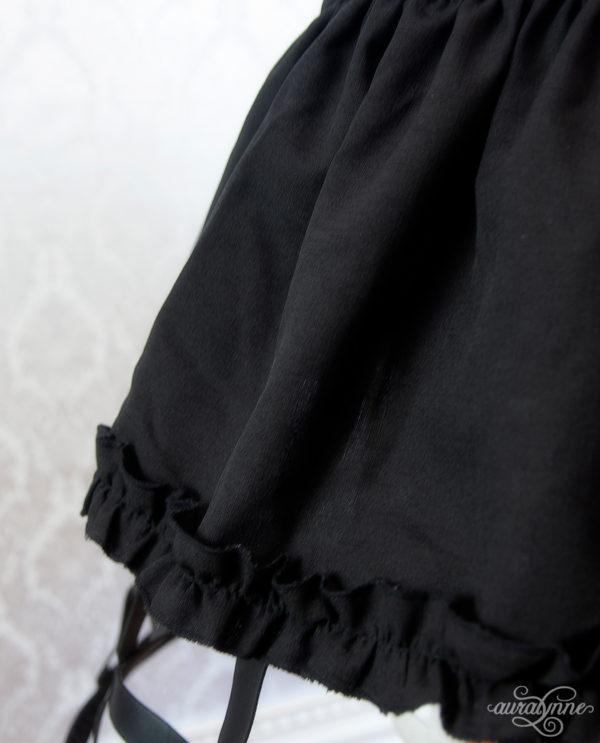 Black Cage Fabric