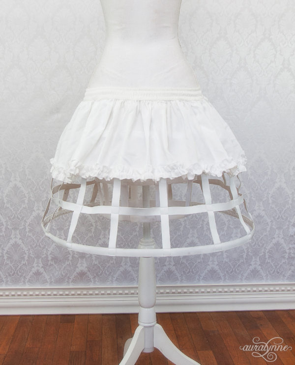 White Cage Back