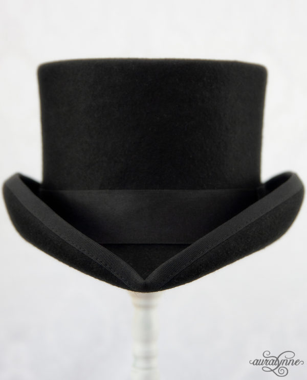 Black Top Hat front