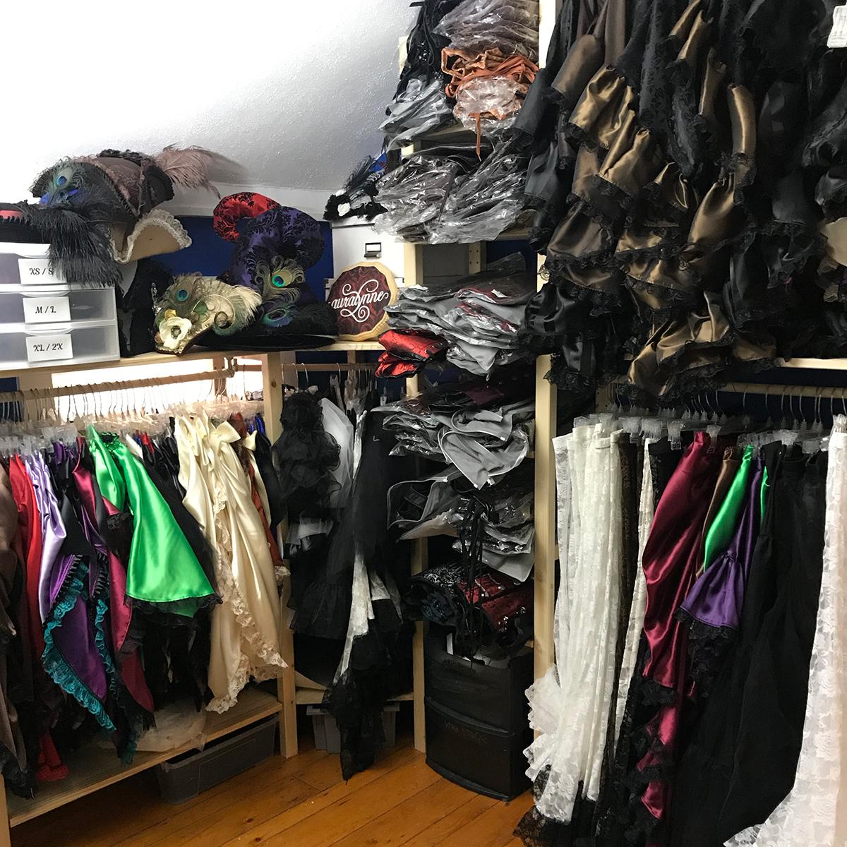 Overstuffed Stock Closet
