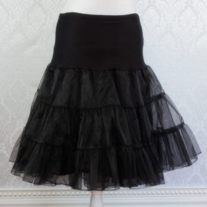 Black Petticoat Front