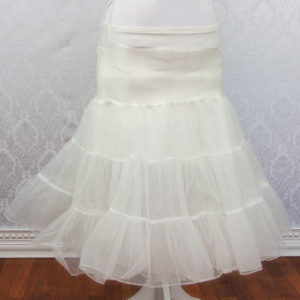 Ivory Petticoat Front
