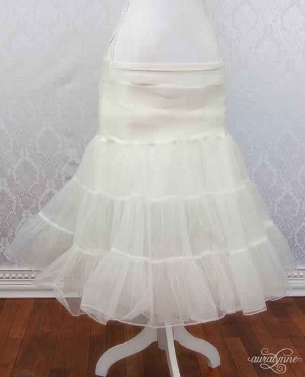 Ivory Petticoat Front