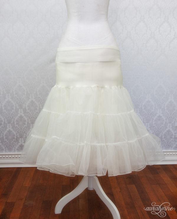 Ivory Petticoat Back