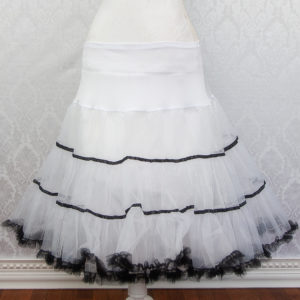 Striped Petticoat Front