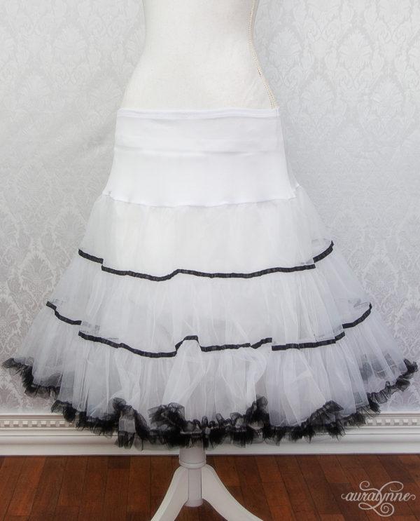 Striped Petticoat Front
