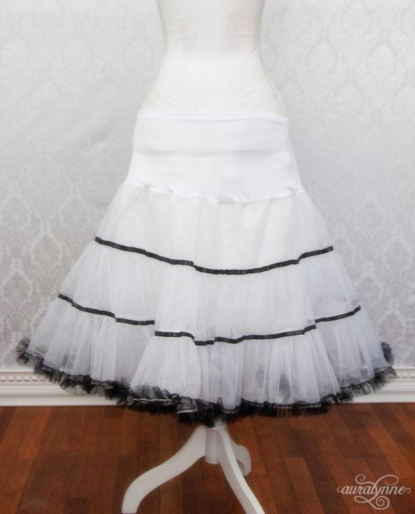 Striped Petticoat Back