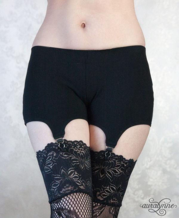 Garter Shorts Front