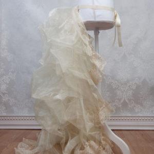 Victorian Bustle Petticoat Side