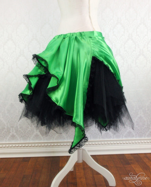 Tinker Bell Pixie Skirt Back