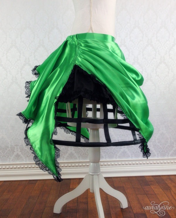 Green Pixie Cage Skirt Side
