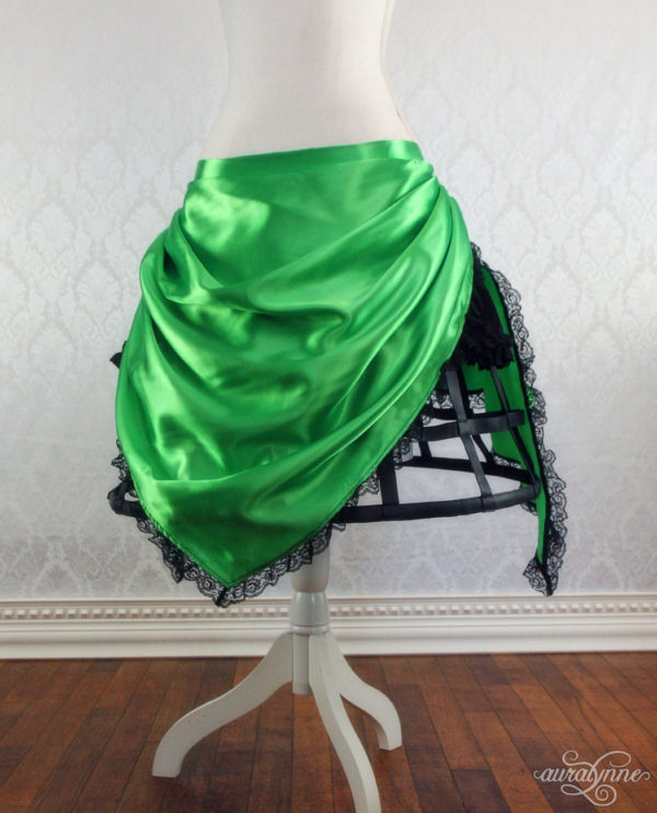 Green Pixie Cage Skirt Front