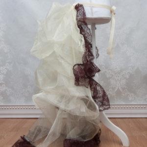 Steampunk Bustle Petticoat Side