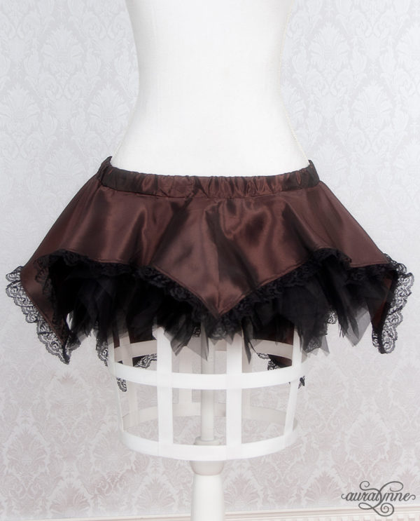 Brown Pixie Fairy Skirt Front