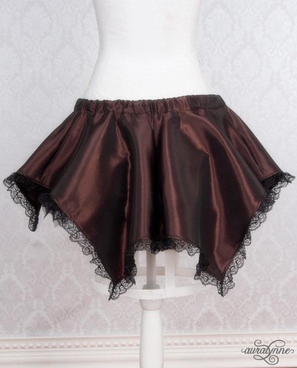 Brown Pixie Fairy Skirt Back
