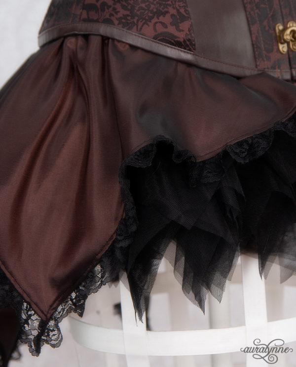 Brown Pixie Fairy Skirt Closeup