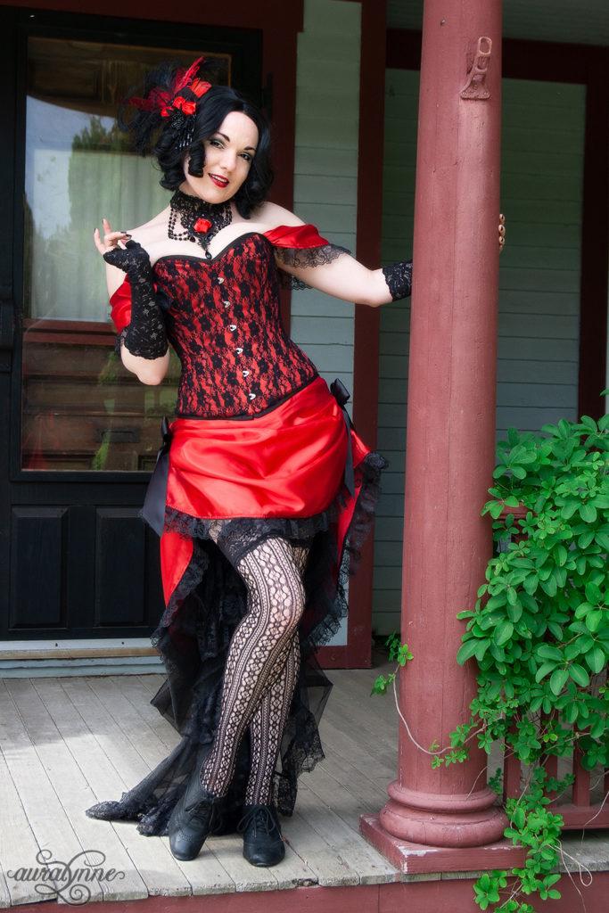 Victorian Saloon Girl Costume